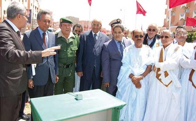 Inauguration d une série de projets dans les provinces du Sud