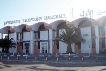 Laâyoune: Le trafic aérien en hausse de 10,54%