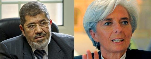 Entretiens au Caire entre Le président égyptien et la DG du FMI sur les moyens de soutenir l'Egypte