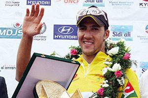 24e édition du Tour cycliste du Maroc : Mohsine Lahsaini conserve le maillot jaune et s'adjuge le titre