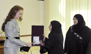 SAR la Princesse Lalla Salma visite le Musée des arts islamiques à Doha