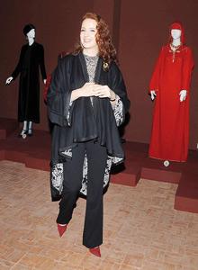 Lalla Salma inaugure l'exposition «Yves Saint Laurent et le Maroc»