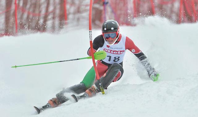 Ski alpin : Lamhamedi médaillé de bronze en slalom au Colorado