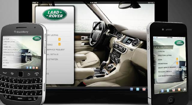 Land Rover MENA : Une application mobile gratuite