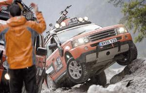 Annulation du «Land Rover G4 Challenge»