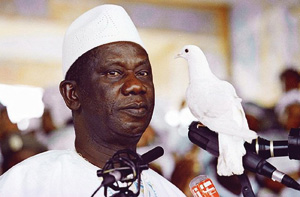 Tentative de putsch après la mort de Lansana Conté