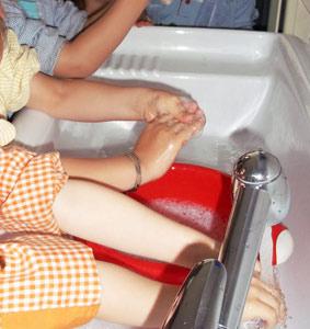 Journée mondiale du lavage des mains : Un simple geste permet d'éviter 1 million de décès d'enfants