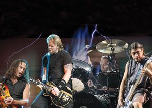Légendes de la musique : Rock métal : La touche Metallica