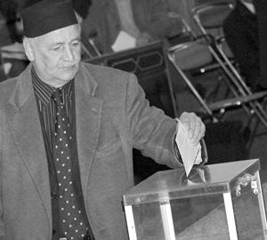 Le vote, un choix d'élus par une procédure sécurisée