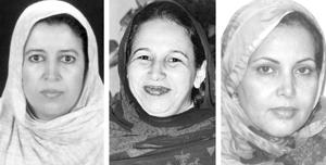Législatives 2007 : Les femmes sahraouies entrent en force dans la politique