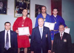 Le Raja champion national de Sambo