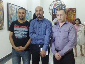 Tanger : Exposition collective de trois jeunes artistes-peintres