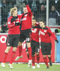 Bundesliga : le Bayer Leverkusen champion d'automne