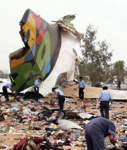 Libye : 103 morts dans un crash d'avion