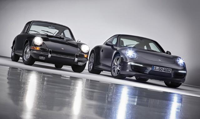 Porsche 911 anniversaire : 50 ans et sept générations plus tard