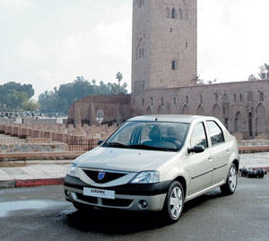 Dacia Logan, l'automobile la plus vendue au Maroc