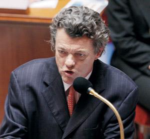 Jean-Louis Borloo, prix de l'humour politique