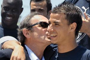 Marouane Chamakh forfait pour cause de blessure