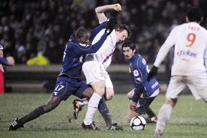 Lyon cale face à Valenciennes
