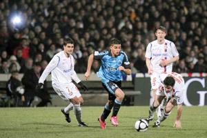 Lyon accroché par Marseille