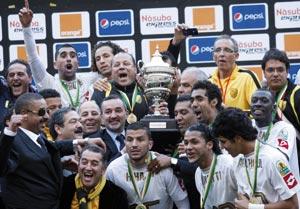 Le MAS au sommet du football africain