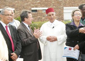 Visite d'une délégation d'élus de la commune de Mohammedia en France