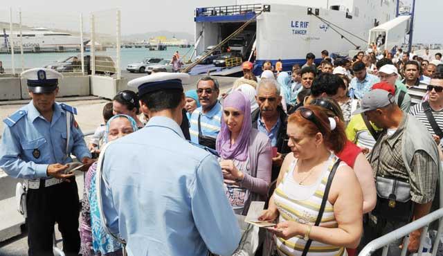 Le port Tanger-Med a accueilli 75.650 passagers en 3 jours.