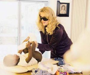 Madonna est définitivement la maman du petit David