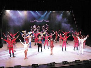 Première tournée marocaine des circassiens russes