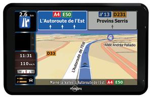 Mappy : Le GPS multi-cartes et multi-usages