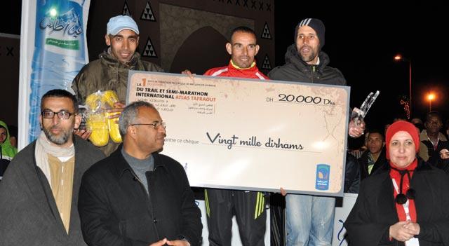 Trail et semi-marathon Atlas Tafraout : Première édition, premier succès