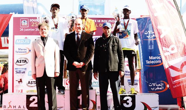 Marathon International de Marrakech: Les Ethiopiens maîtres de la discipline