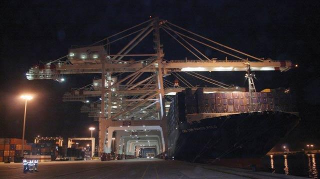 Transport maritime : Le géant des mers Marco Polo fait escale à Tanger-Med