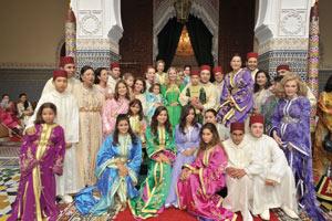 Célébration du mariage de SA le Prince Moulay Ismaïl et Anissa Lehmkuhl