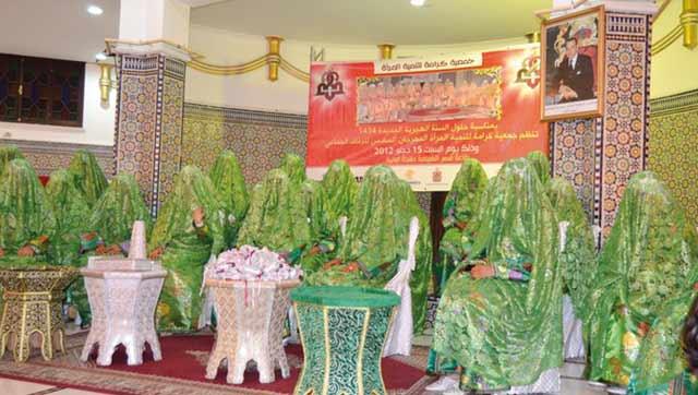 Mariage collectif à Tanger  au profit de 28 jeunes couples