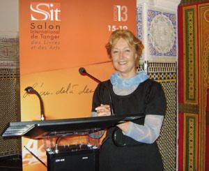 Marie-Christine Vandoorne : «Le salon permet de renouer avec la grande époque tangéroise»
