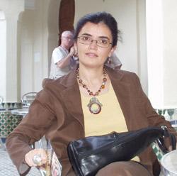 Meriem Laalej en attendant Godot
