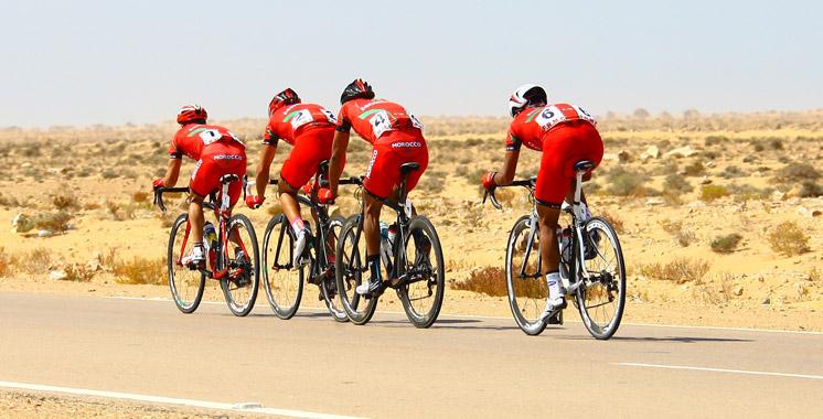 Tour cycliste du Sahara: Said Bendadou remporte la dernière étape