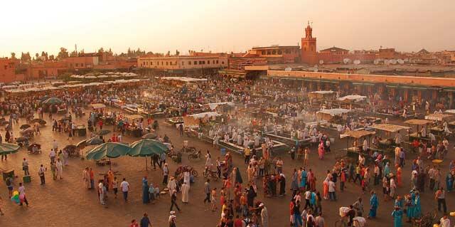 Marrakech : Baisse de 2 pc des arrivées de touristes lors des neuf premiers mois de 2012