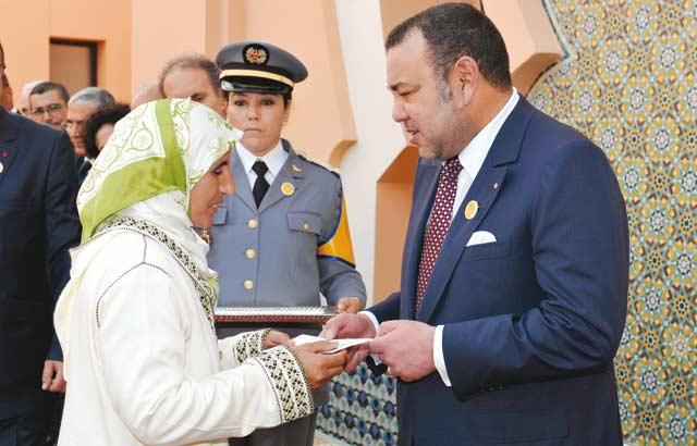 Une volonté royale de promouvoir la culture de solidarité auprès de tous les Marocains