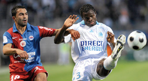 L'OM renoue avec la victoire, Toulouse domine Auxerre