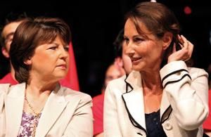 Royal savoure en silence sa revanche sur Aubry