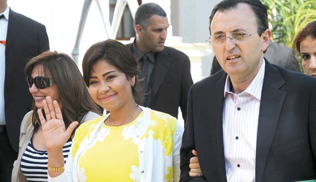 Mawazine 2013 : Sherine ne termine pas sa conférence de presse !