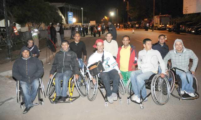 Mawazine 2013 : Les personnes à besoins particuliers ne sont pas en reste