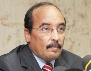 Farouk Chareh reçu par Mohamed Ould Abdel Aziz