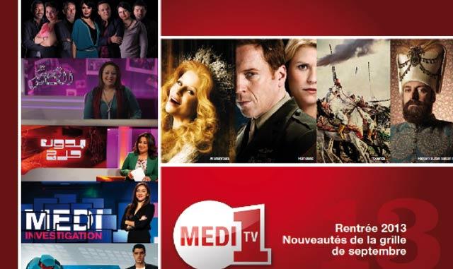 Programmes TV : Une rentrée innovante  pour Medi1TV