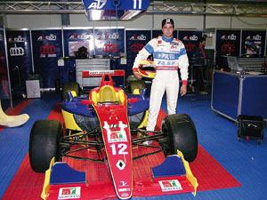 Mehdi Bennani dans la course pour le grand prix