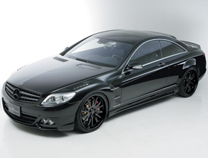 Le bolide : Mercedes CL by Wald International