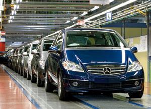 Mercedes Classe A et Classe B : Des volumes de production historiques