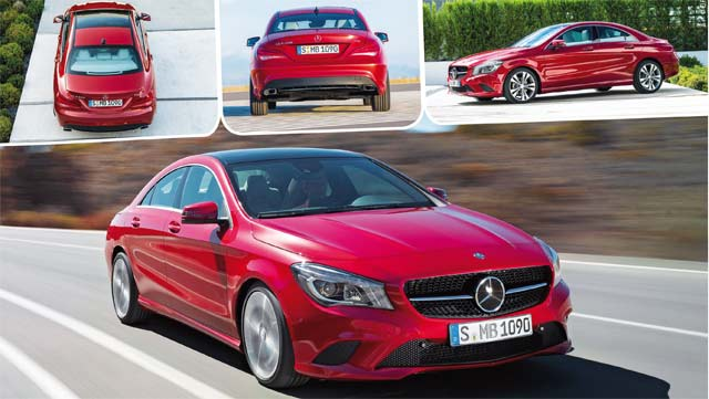 Mercedes Classe CLA : Gaga de la baby CLS